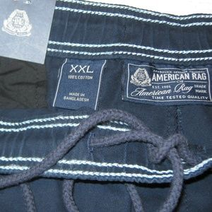 American Rag Pants - Mens Cropped Jogger Pants American Rag Navy Blue
